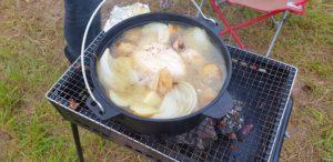 丸鶏のスープ