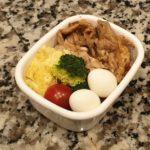生姜焼き 鮭ご飯