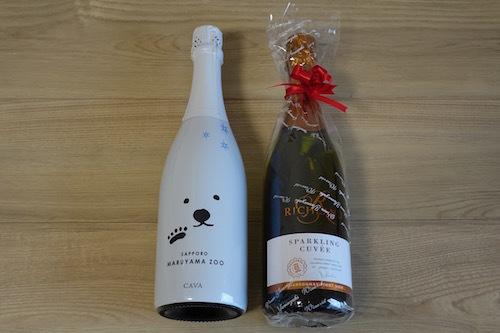 父の日のプレゼントは北海道円山動物園とコラボしたワインでした。